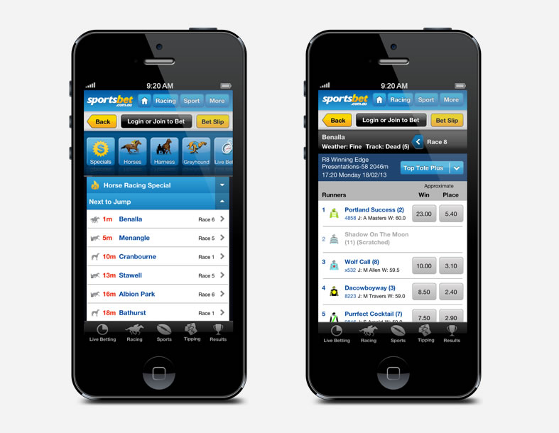 c48652f90 Sportsbet Mobile Site and iPhone App Review - Bet For Free