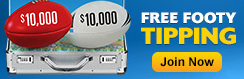 free-footy-tipping, free tips, million dollar tipping