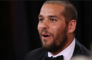 Buddy Franklin at the 2014 Brownlow